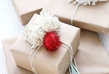 Wrap Superstars / You say you wanna be a wrap superstar? Big bows, cute cards...year-round gift wrap ideas.  / by Liz Gray
