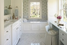 HOME - Bathrooms & Laundry Rooms / by Stella Yam