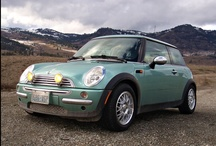 Automobiles - Mini Modern / Modern Mini Coopers of all kinds. / by David James