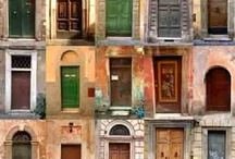 DOORS & WINDOWS / by Cristina Del Sol Artist