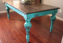Farmhouse Tables / by Red Hen Home