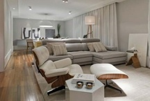 living / jantar / TV / home theater / by Vanessa Scaff
