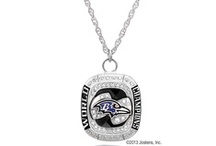 Baltimore Ravens Championship Fan Collection / Celebrate a win to remember. Shop the Jostens Ravens Fan Collection for jewelry inspired by the Super Bowl XVLII Championship Ring. / by Baltimore Ravens