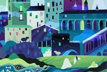 Illustration / by Dominique Falla