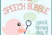 The Speech Bubble SLP / Materials, information and tricks from The Speech Bubble SLP :) / by Maureen Wilson