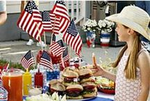 Celebrate America / Patriotic recipes, crafts, and more for July 4th, Memorial Day, Flag Day, and any day that you'd want to celebrate America / by Kecia (Southern Girl Ramblings)