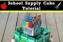 Back to School / Everything you need for back to school! School supplies, back to school craft ideas, school organization, and school lunch ideas / by Kecia (Southern Girl Ramblings)