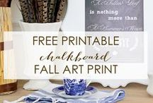 FALL - DECORATING / by Rebekah Dempsey   A Blissful Nest