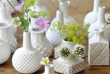 HOME - MILK GLASS / by A Blissful Nest