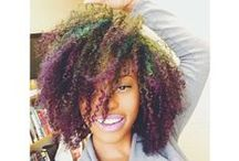 Nappy hair, don't care! / Women (and some men) rocking their naturally kinky/curly hair in creative and beautiful style / by Phyliss Flanagan