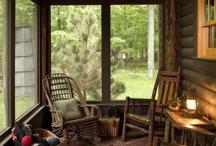 Porches / by Karen (Teddy) Miller