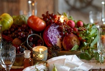 FALL TABLE TOPS / by The Domestic Curator