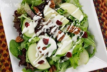 Salads & Dressings/Sauces / by Kathleen Hoover