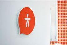 Signs • Bewegwijzering | Wayfinding / by Ank | 2d studio in vorm