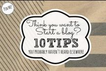 Blogging Tips / by Mallery Schuplin