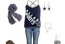 Game Day Attire / You need to look great when you watch NFL games either at home or at the stadium! / by Ladys Football