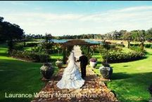 Ceremony Venues in WA / Featured WA venues that are as pretty as a picture and make the most beautiful backdrops for a ceremony. Find more details about these venues on http://www.coasttocountryweddings.com.au / by Coast to Country Weddings