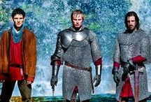 Once & Future King and the Court Sorcerer / My love of BBC Merlin and Camelot in general / by Natalie Dean