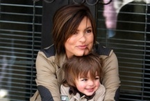Mariska Hargitay /  I think she is a lovely person. Beautiful. I have followed her through all of her career.  / by Carla Mauger