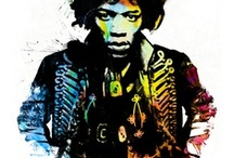 Jimi / All About Jimi Henrix and all related to Hendrix / by Ivan German