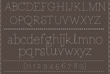 free fonts / by Amber Kimber
