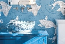 chic wallcoverings / by Pam Howcroft
