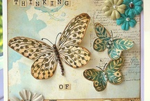 Cards--Butterflies/Dragonflies 1 / by Patricia Panzica