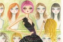 Bella Pillar Illustrations / by Patricia Panzica