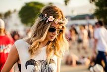 Festival Ready / Festival season is officially here! Be inspired by hottest festival essentials from denim dresses to cowboy boots, mix lace with floral prints and complete your look with a kimono; the perfect essential to throw over when the sun goes down.  / by StylistPick ♥