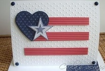 Patriotic Cards SU / by Patricia Lemont