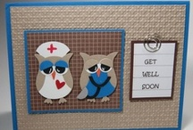 Get Well Cards SU / by Patricia Lemont