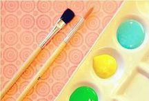 HAPPY OFFICE & ART STUFF (pencils, aquarelas..)=) / by Yu Fa