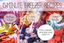Freezer Food Recipes / by Tuesday Morning