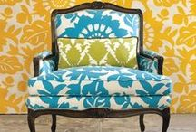 Re upholstering furniture / by M Stewart