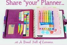 Planner love / by Jeanne Slattery