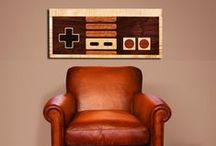 Man cave/games room stuff / by For The Man I Love