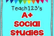 ❤️A+ - Social Studies❤️ / by Teach123