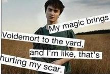 Harry Potter Stuff :) / by Karina Wolf