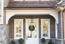 Cape Home Architecture / by Patti Balhorn