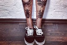 Black and White Tattoos / by Anna Weldon