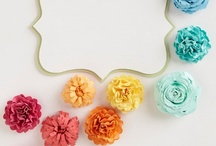 Crafting Flowers & Bows / by Annie Benabdallah