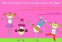 Cute invitations for kids...... / by Trauma Newell