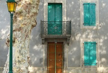 Glass and Concrete and Stone...and Doors / Striking architecture / by Donna A