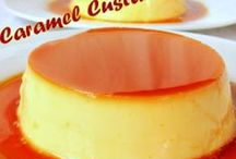 Custards Flans and Puddings / by Sandra Richter