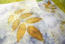 Eco Dyeing / www.Linda-Matthews.com / by Linda Matthews