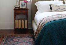 bedrooms. / by Katie Tompkins