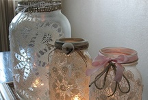 BOTTLES AND JARS RE-CREATED / by Krissie Shields