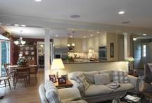 Open Floor Plans / by Case Design/Remodeling, Inc.