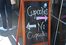 Eats: Cupcakes, Muffins & Whoopie Pies / But lets face it Muffins are just ugly cupcakes. / by Jennifer Lunn
