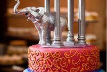 Wedding Cakes / wedding cakes ideas   best wedding cakes   indian themed wedding cake ideas   diy wedding cakes ideas   wedding shower cakes ideas / by BollywoodShaadis.com